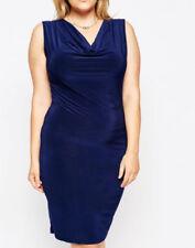 Jersey Draped Plus Size Dresses for Women