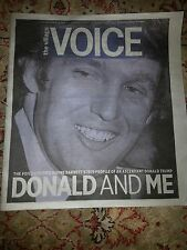 The Village Voice Revisits 1979 Profile Donald Trump, Listen To Me Brando...2015