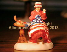 New England Dept 56 Sewing The Stars & Stripes! 57122 NeW! Mint! FabUloUs!