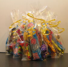 80 x Clear Cellophane Sweet Bags/ Party Bags/ Gift Bags