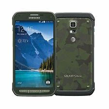 """New"" Samsung Galaxy S5 Active SM-G870A 16GB Green UNLOCKED Android LCD BURN"