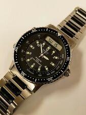 Vintage Seiko H556-5029 Baby Arnie Ana Digi Quartz Watch Nice!-New Battery