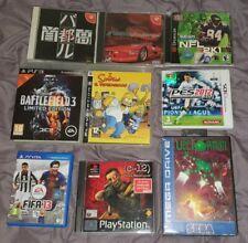 Lotto Giochi PC PS2 PS3 Playstation Vita Mega Drive Dreamcast Nintendo 3DS