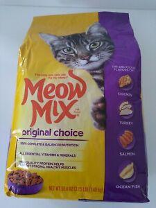 Meow Mix Original Choice Dry Cat Food 18oz