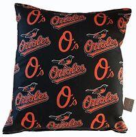 Orioles Pillow Baltimore Orioles Pillow MLB Handmade in USA