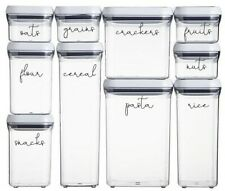 Pack of x10 Personalised Pantry/Kitchen/Food Labels Mrs Hinch