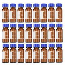 1000pcs 2ml Autosampler Vials Amber Glass Bottle 9 425 Fits Agilent Thermo Ctc