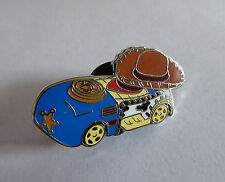 Disney Trading Pins 119562 Disney Racers Mystery Pin Pack - Sheriff Woody