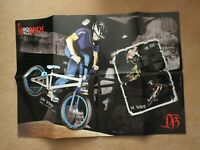 "2010 DiamondBack BMX Bike Sales Brochure / Poster - 33"" x 23"" - Del Dan Shepherd"