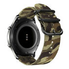 Samsung Gear S3 S2 Classic S3 Frontier Band, Military Woven Nylon Watch Strap