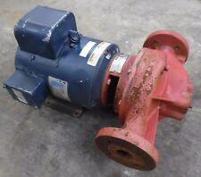 LEESON ELECTRIC MOTOR 131640.00, 3 HP, 115/208-230V W/ BELL & GOSSETT WATER PUMP