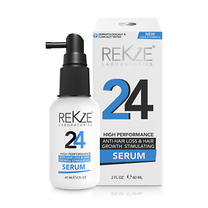 REKZE 24 - Clinically Proven, Anti Hair Loss Treatment,  Results After 28 Days