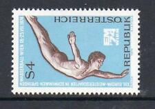 AUSTRIA MNH 1974 SG1714 13TH EUROPEAN SWIMMING,DIVING AND WATER POLO CHAMPS