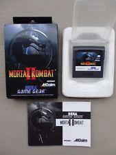 Mortal Kombat 2 - Sega Game Gear - PAL - Complet BE - GC
