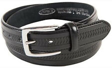 Ossi Mens Leather Lined Belt Buckle Casual Waist 30mm Q5028
