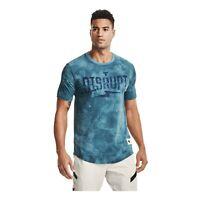 Under Armour Men's Sports T-shirt Project Rock Disrupt Short Sleeve 1357189-446