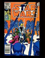 Star Wars #60 (Newsstand) FN- Simonson Origin Shira Brie (Lumiya) Luke Skywalker