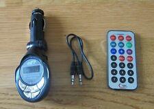 MP3 WIRELESS FM MODULATOR W/REMOTE FULLY ADJUSTABLE 4 IN 1  206 FM CHANNELS