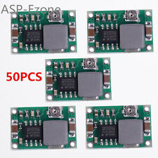 50pcs Mini-360 DC-DC 4.75V-23V to 1V-17V Step Down Module Buck Converter