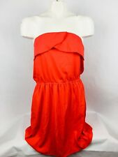 Speed Control Women's Dress Small Strapless Red Tube Top Cocktail Dress (O)