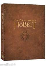 EL HOBBIT UN VIAJE INESPERADO EXTENDIDA DVD NUEVO ( SIN ABRIR ) 5 DISCOS