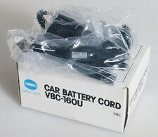 MINOLTA VBC 160U CAR BATTERY CORD IN BOX
