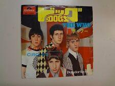 "WHO: Dogs 3:04- Circles 2:27-Japan 7"" 1968 Polydor DP 1595 Original DJ Mono PSL"