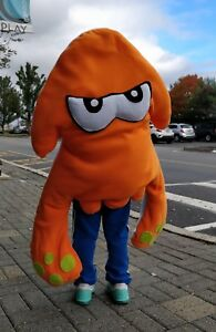 Splatoon Inspired Inkling Squid Octopus Costume
