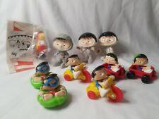 Bobby's World Toy Figures Lot of 10 VTG 90s Toys Subway Wendys McDonalds NICE