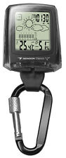 New Dakota Watch Weather Station Clip Easy Dead Digital in Black Color