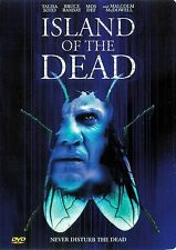 Island of The Dead ~ Malcolm McDowell Talisa Soto ~ Dvd ~ Free Shipping Usa