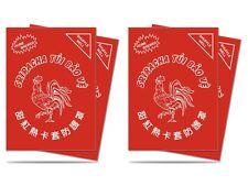 100 ULTRA PRO SRIRACHA DECK PROTECTORS Matte Art Sleeves MTG Lot 84640