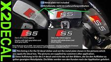Brake decal sticker to fit Audi S2 S3 S4 S5 S6 S7 3 colour choices x2 no seal