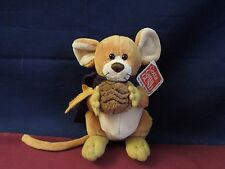 "Gund ""Fields"" The Mouse With Nut, Leaf and Scarf"