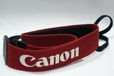 Genuine Canon EOS Wide Red strap for 3 RT 1n 1DS 5D 7D 80D camera etc