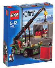 Lego Town City Ship Port Freight Cargo Transport Container Stacker