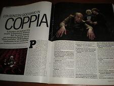 L'Espresso.Adriana Asti & Giorgio Ferrara,Lucio Fontana,Perry Anderson,S.Polley