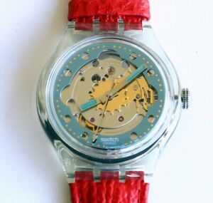 SWATCH Automatic 1992 - SAK101 - RED AHEAD - New
