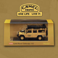 Hot-Sale Master 1:64 Land Rover Defender 110 CAMEL TROPHY Diecast Car Model NEW