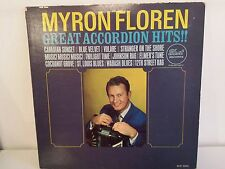 MYRON FLOREN Great accordion hits !! DLP 3583