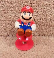 Vintage 1989 Nintendo Super Mario Bros. Raccoon Tail, Spring Pop Up Toys C