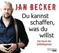 Becker Jan Du kannst schaffen was du willst CD HörBuch NEU Selbsthypnose