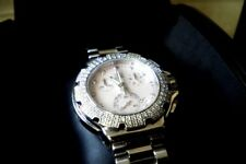 TAG HEUER FORMULA 1 ONE MOTHER OF PEARL PINK DIAL DIAMOND CHRONOGRAPH WATCH $3K+