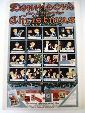Original Dennison Advertising Ad With Coupon For Free Christmas Booklet *
