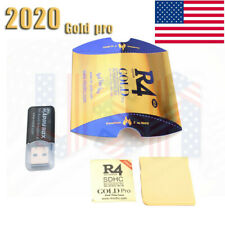 2020  R4 Gold Pro SDHC for DS/3DS/2DS/ Revolution Cartridge + USB Adapter Set