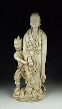 CHINA ANTIQUES DEHUA WARE  PORCELAIN KUANYIN BUDDHA STATUE