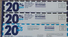 3 Bed Bath & Beyond Coupons - 20% off single item - Holiday Savings!
