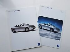 PEUGEOT 307 CC Cabriolet - SALES BROCHURE SPECIFICATIONS - July 2003 & Sept 2003