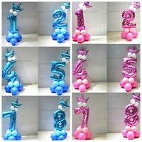 Geburtstagsdeko Zahlenballon Kindergeburtstag Deko Ballon Kinder Baby