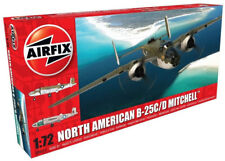 Airfix North American B-25C/D Mitchell 1:72 Scale Plastic Model Airplane A06015